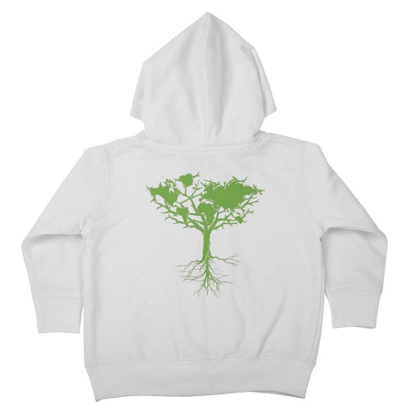 Earth Tree Kids Toddler Zip-Up Hoody by YANMOS