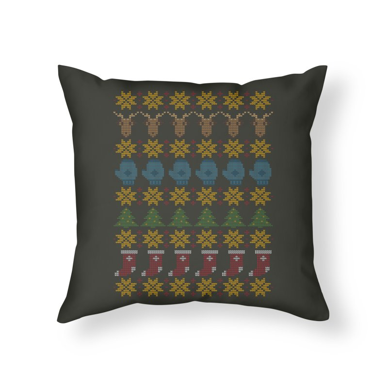 Christmas' Sequel Home Throw Pillow by YANMOS