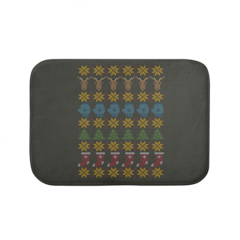Christmas' Sequel Home Bath Mat by YANMOS