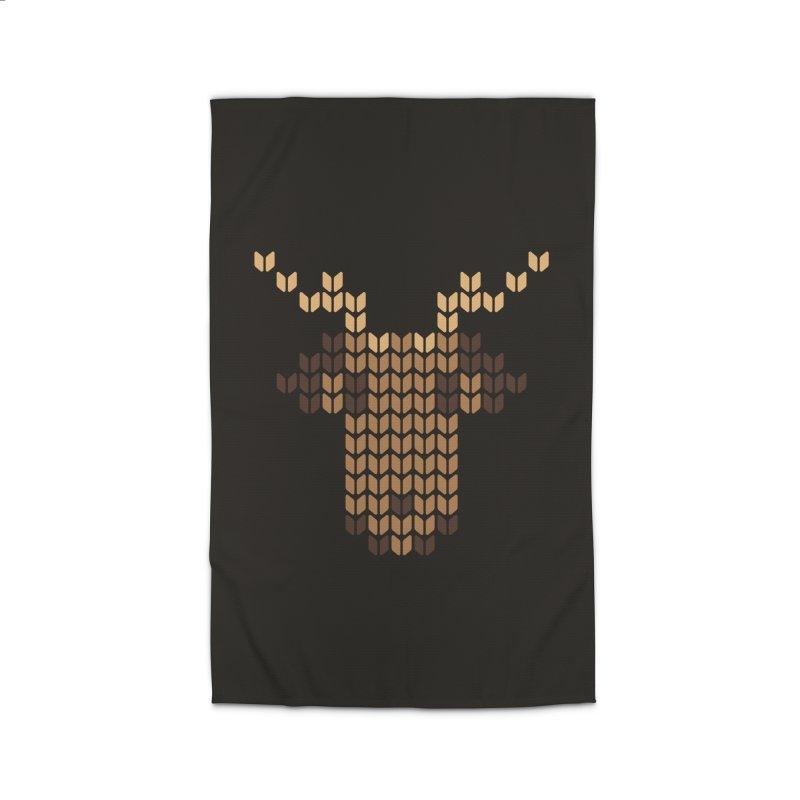 Christmas' Deer Home Rug by YANMOS