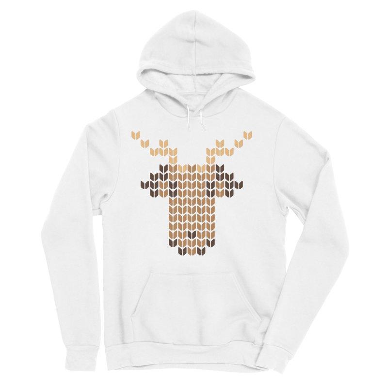 Christmas' Deer Women's Sponge Fleece Pullover Hoody by YANMOS