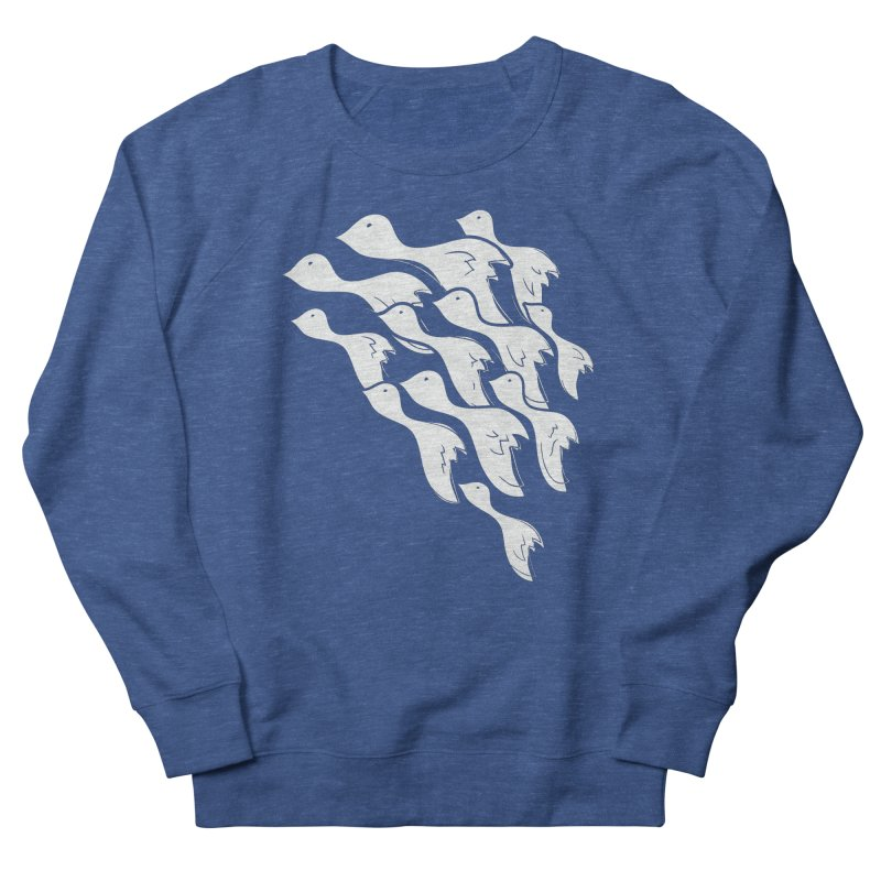 Flying Birds Men's Sweatshirt by YANMOS