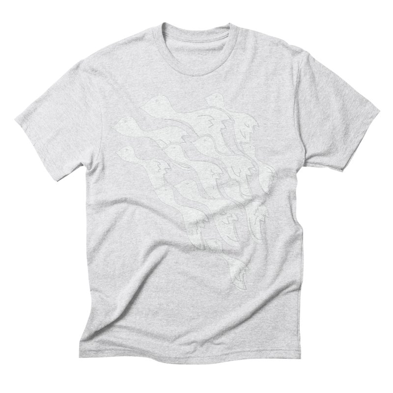 Flying Birds Men's T-Shirt by YANMOS