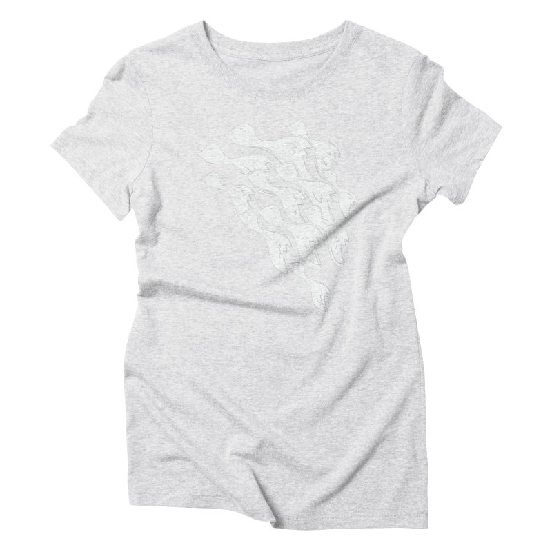 Flying Birds Women's T-Shirt by YANMOS