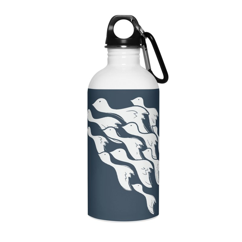 Flying Birds Accessories Water Bottle by YANMOS