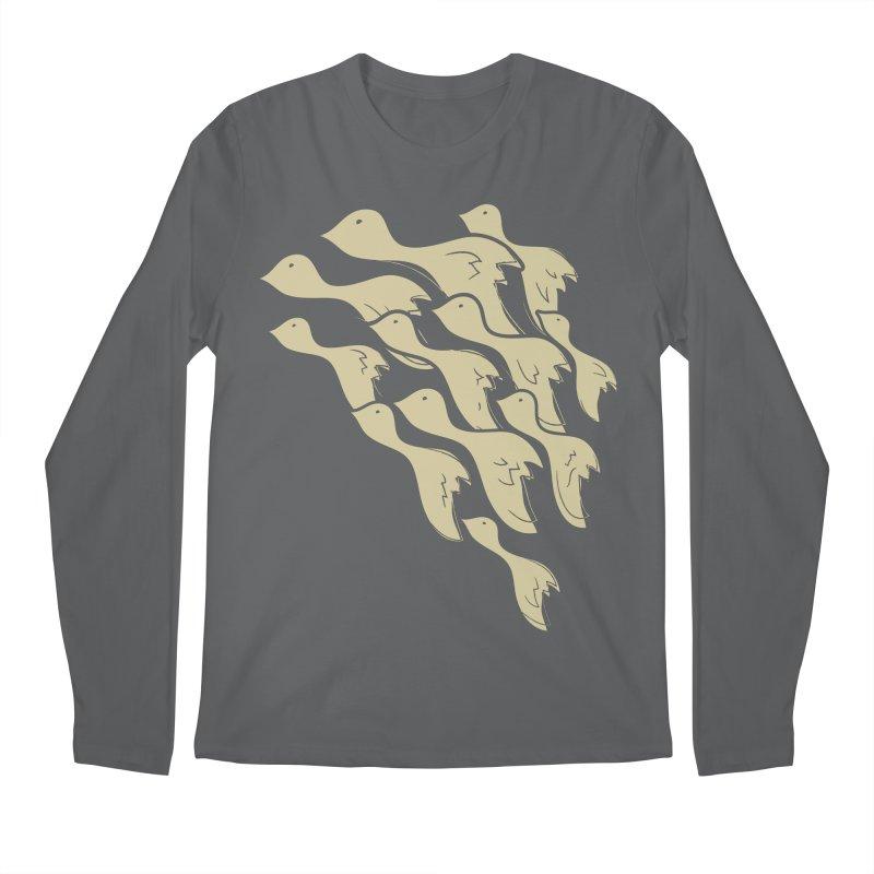 Flying birds Men's Longsleeve T-Shirt by YANMOS