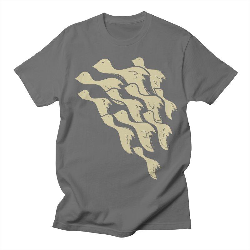 Flying birds Men's T-Shirt by YANMOS