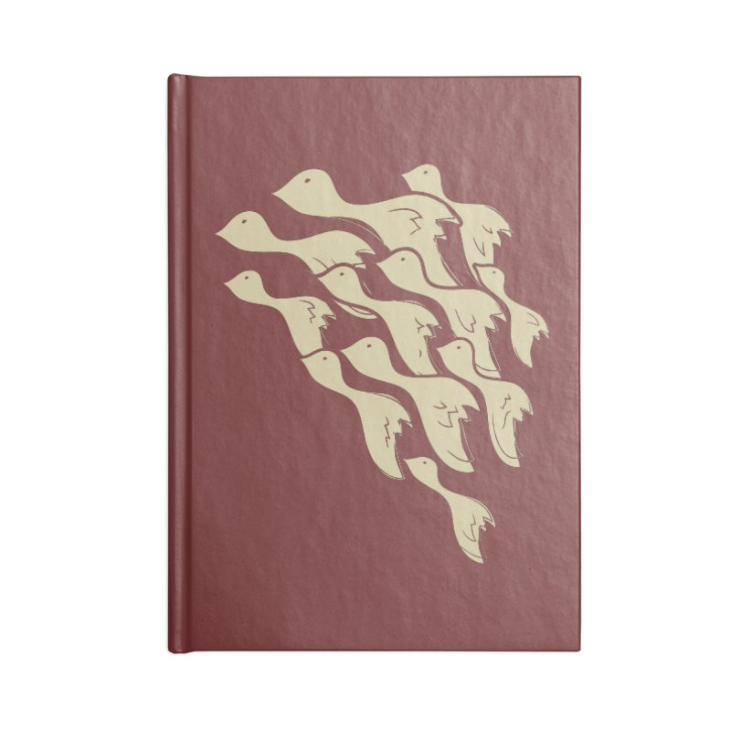 Flying birds Accessories Notebook by YANMOS