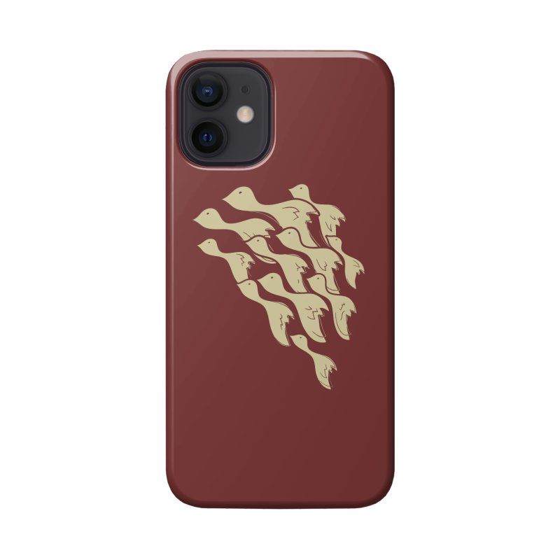 Flying birds Accessories Phone Case by YANMOS