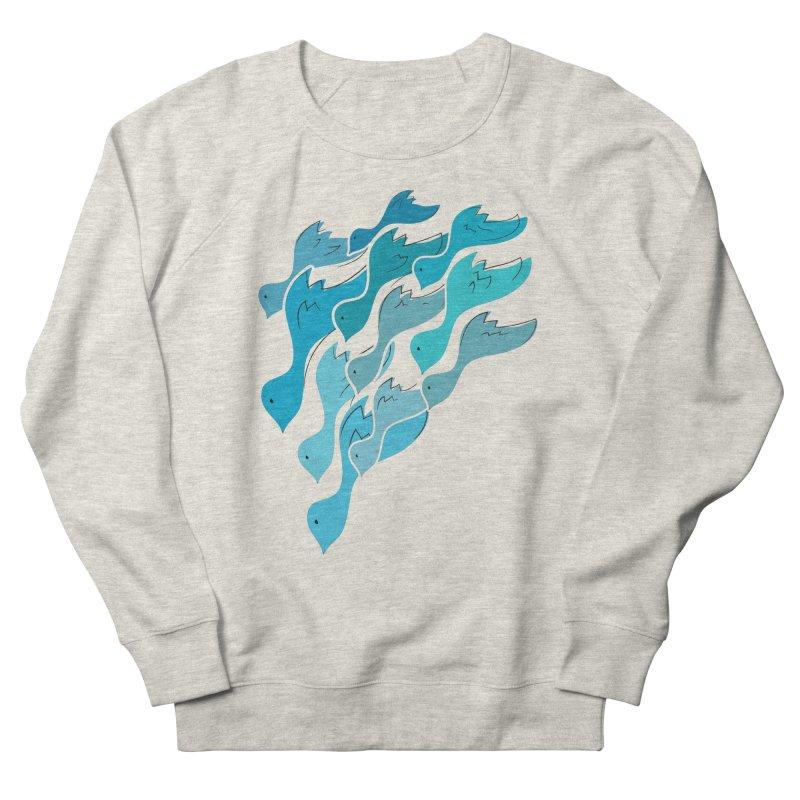 Falling Birds Women's Sweatshirt by Yanmos's Artist Shop