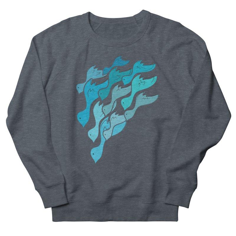 Falling Birds Men's Sweatshirt by Yanmos's Artist Shop