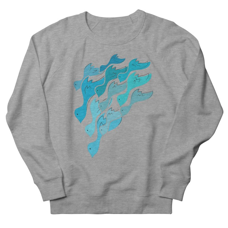 Falling Birds Men's Sweatshirt by Yanmos's Artist Shop