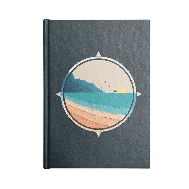 Southern sun Accessories Blank Journal Notebook by YANMOS