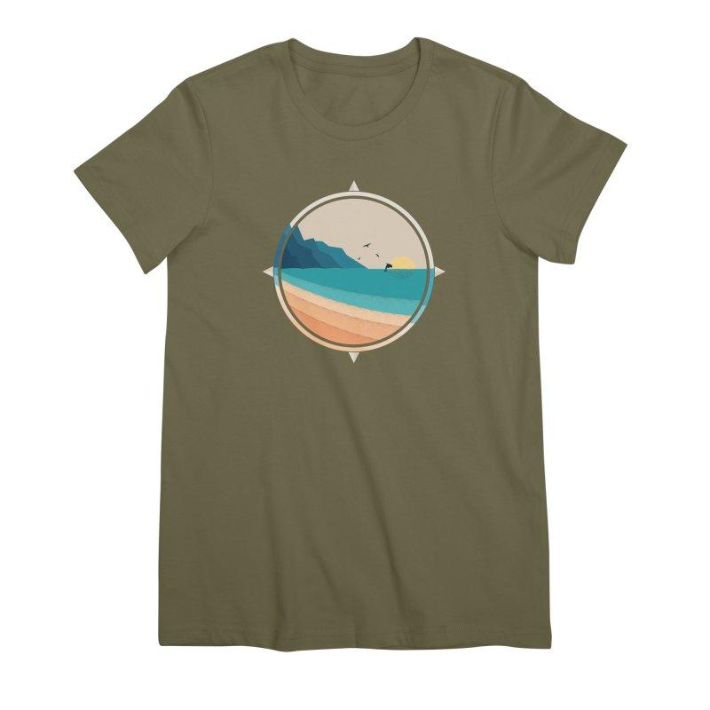 Southern sun Women's Premium T-Shirt by YANMOS