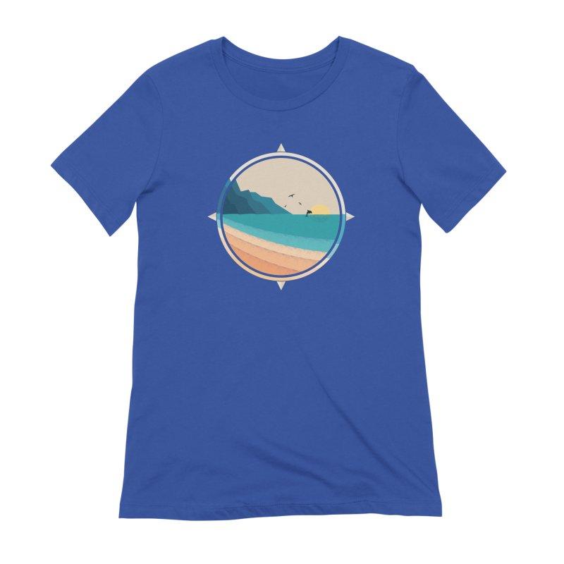 Southern sun Women's Extra Soft T-Shirt by YANMOS