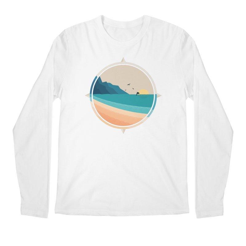 Southern sun Men's Regular Longsleeve T-Shirt by YANMOS