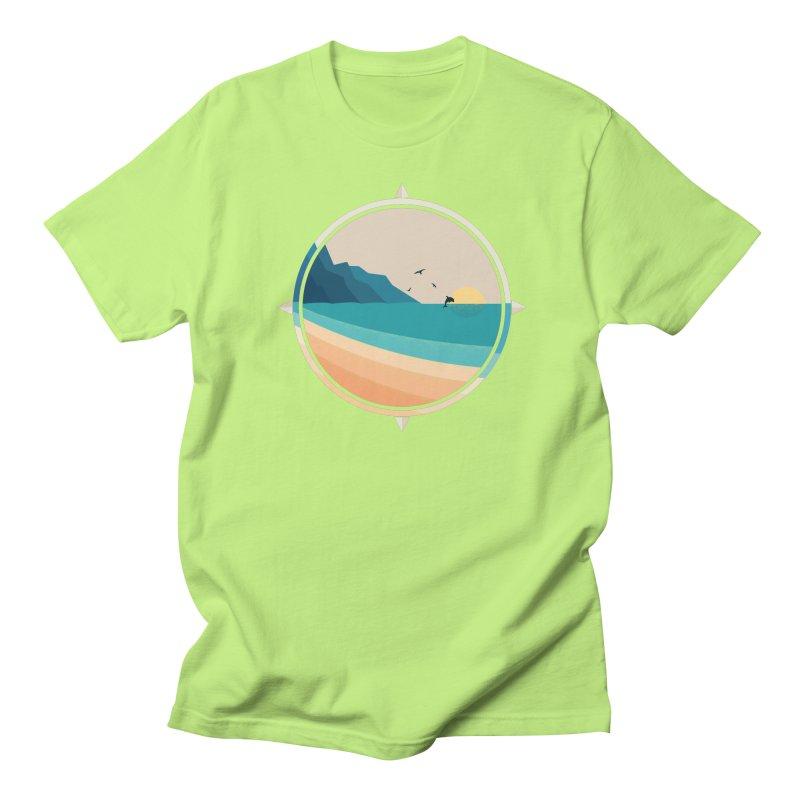 Southern sun Men's Regular T-Shirt by YANMOS
