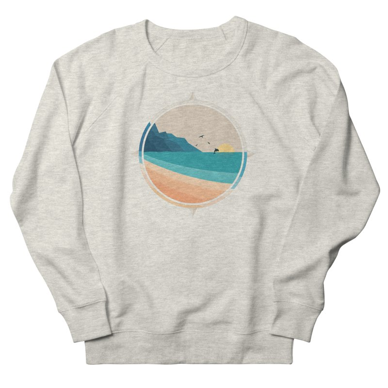 Southern sun Men's French Terry Sweatshirt by YANMOS