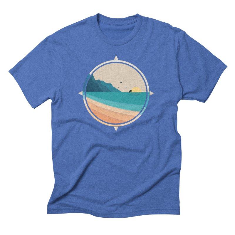 Southern sun Men's Triblend T-Shirt by YANMOS