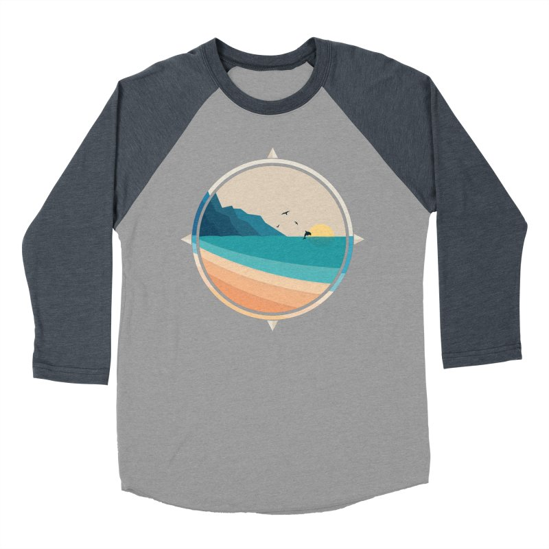 Southern sun Men's Baseball Triblend Longsleeve T-Shirt by YANMOS