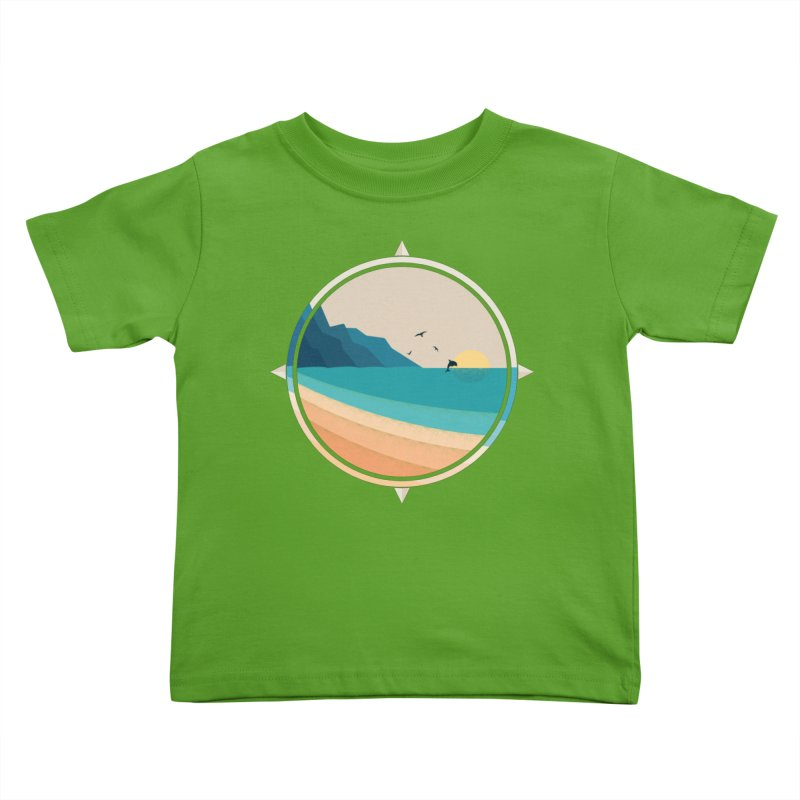 Southern sun Kids Toddler T-Shirt by YANMOS