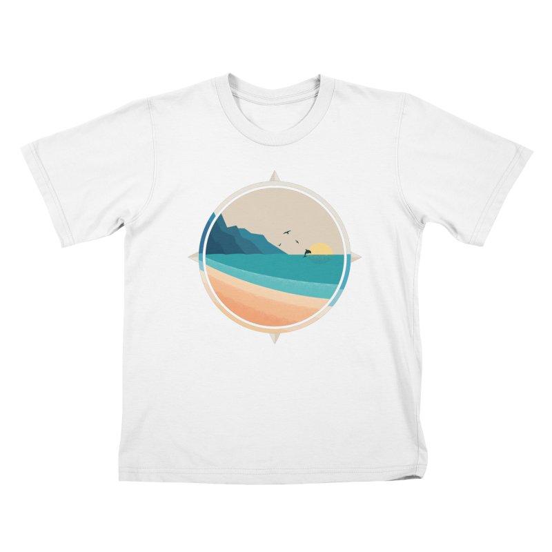 Southern sun Kids T-Shirt by YANMOS