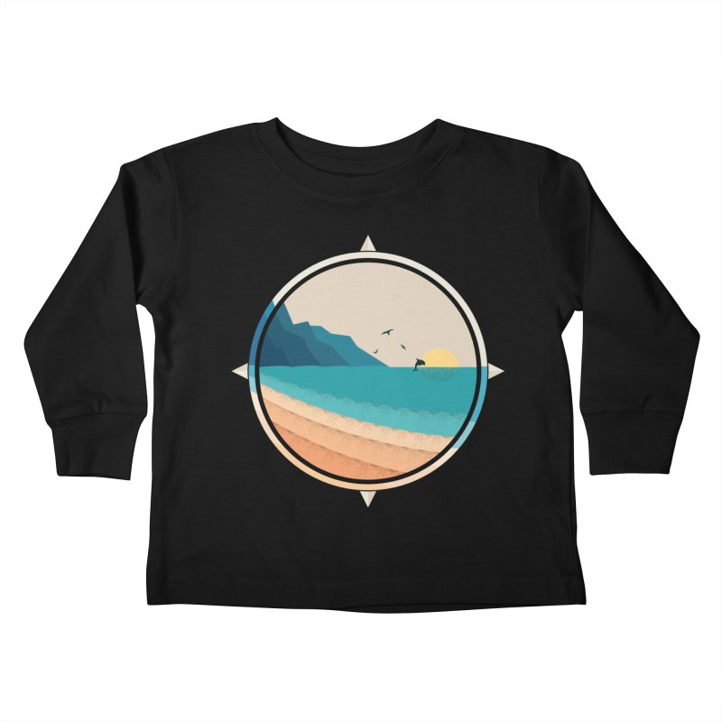 Southern sun Kids Toddler Longsleeve T-Shirt by YANMOS