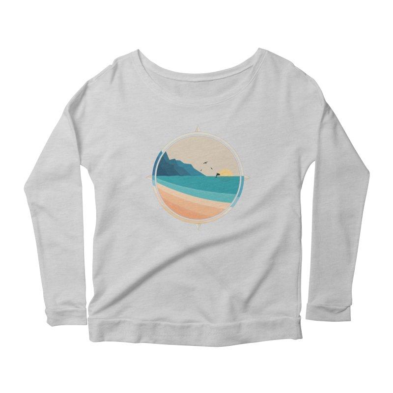 Southern sun Women's Scoop Neck Longsleeve T-Shirt by YANMOS
