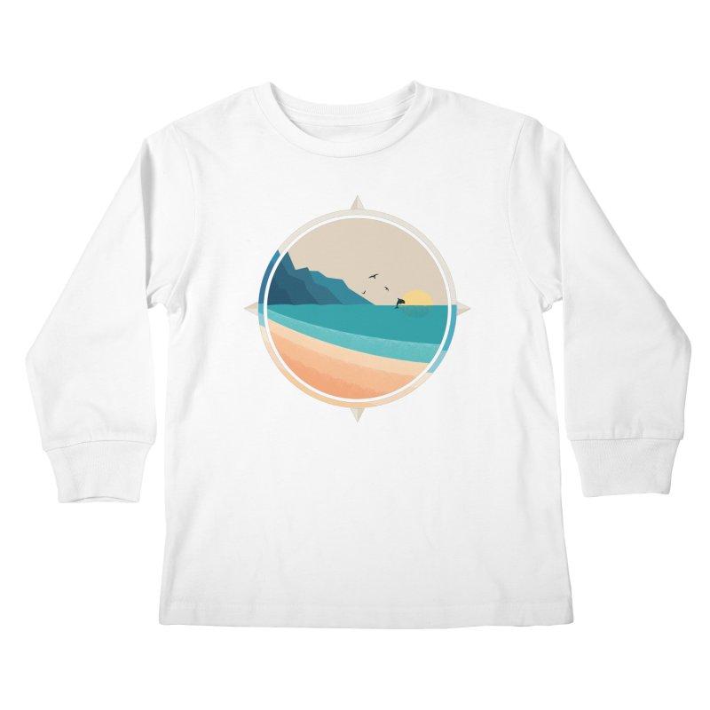 Southern sun Kids Longsleeve T-Shirt by YANMOS