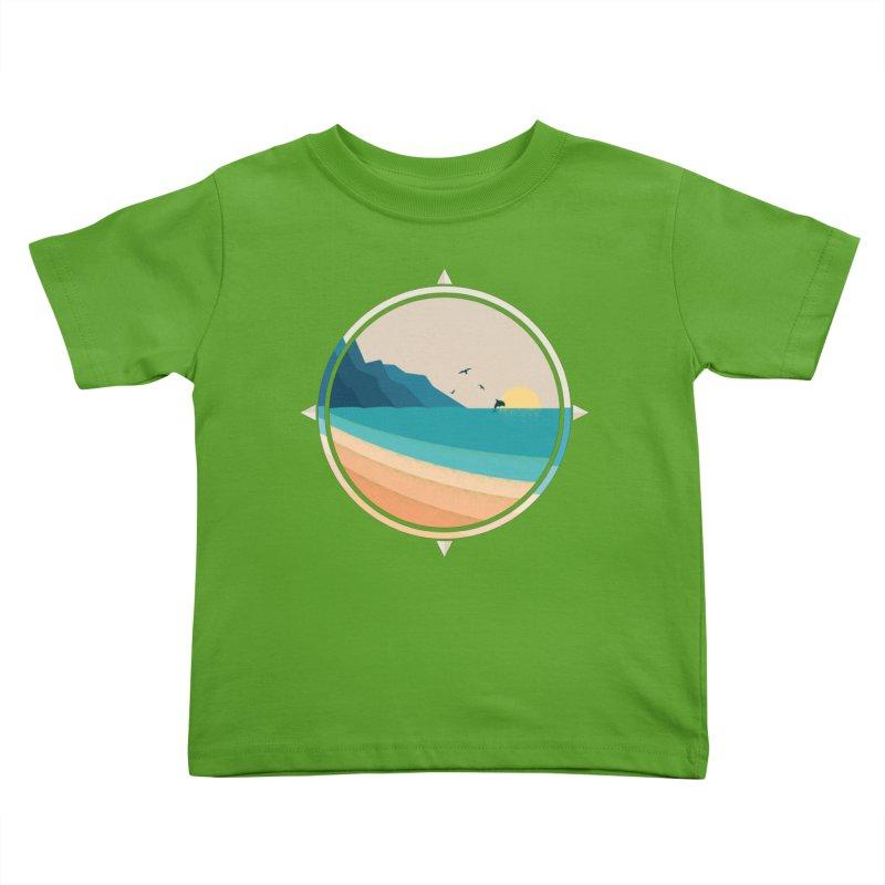 Southern sun Kids Toddler T-Shirt by YANMOS