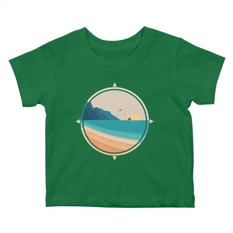 Southern sun Kids Baby T-Shirt by YANMOS