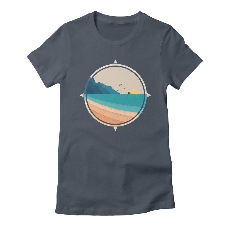 Southern sun Women's T-Shirt by YANMOS