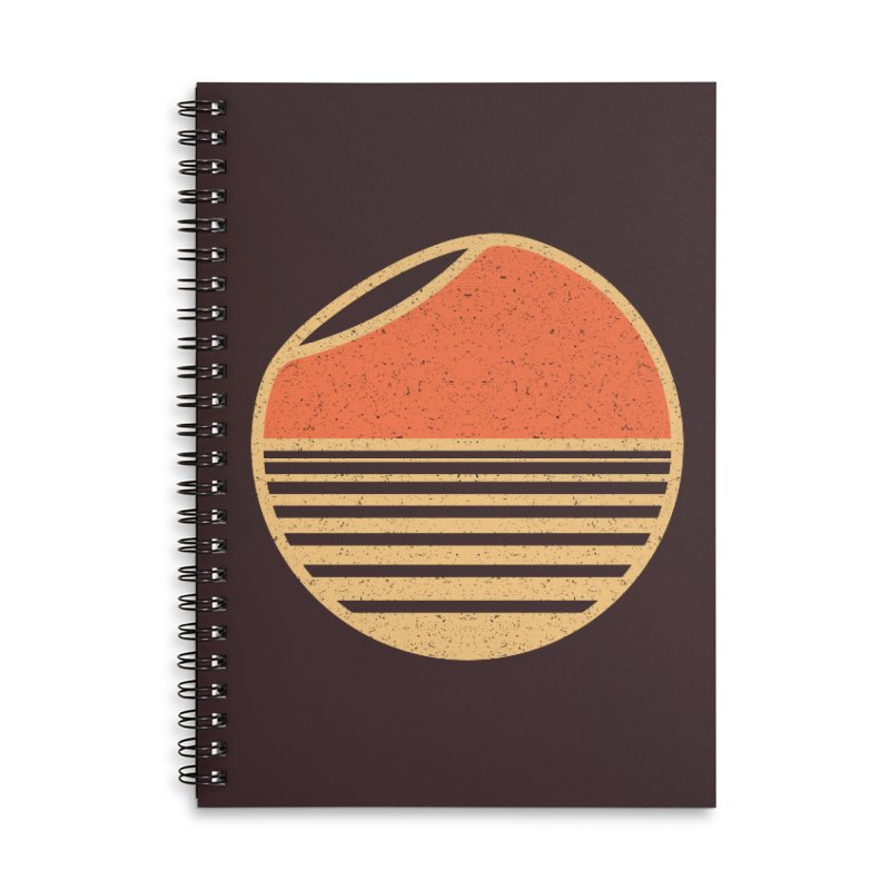 Unfold Accessories Lined Spiral Notebook by YANMOS