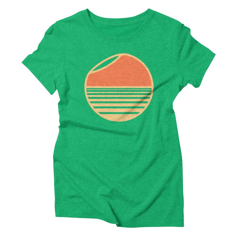 Unfold Women's Triblend T-Shirt by YANMOS