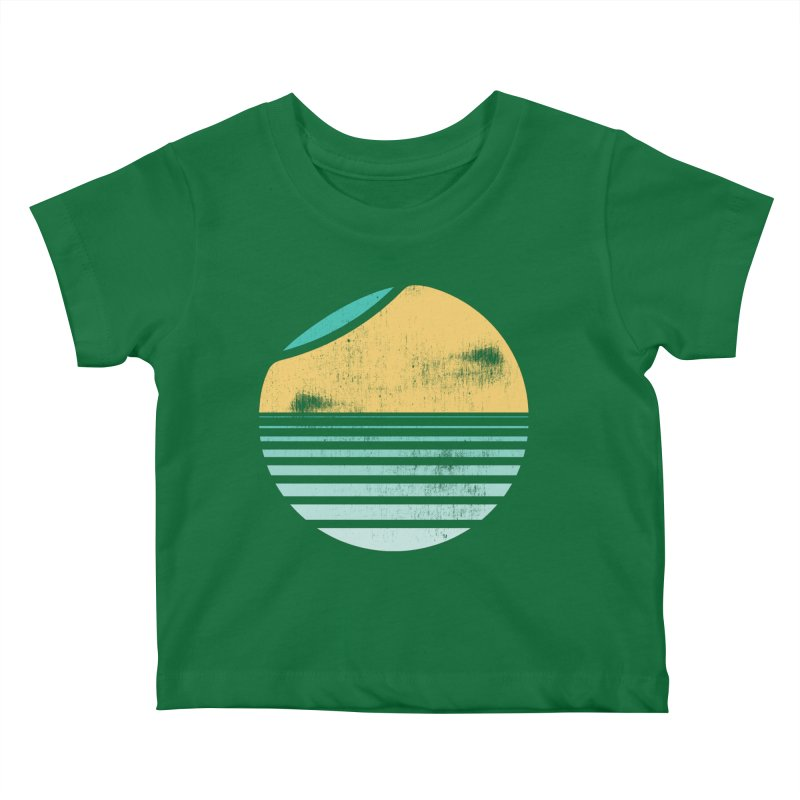 Unfold Kids Baby T-Shirt by YANMOS