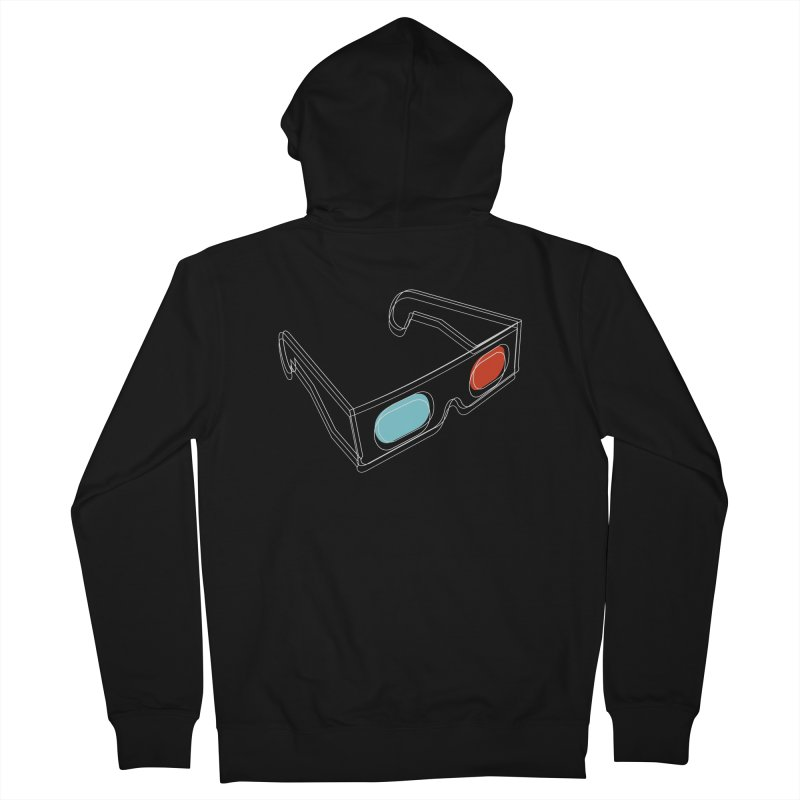 Inside 3D Men's Zip-Up Hoody by Yanmos's Artist Shop