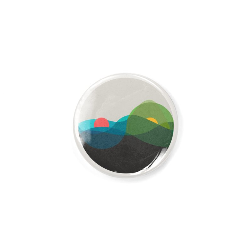 Sunrise vs Sunset Accessories Button by YANMOS