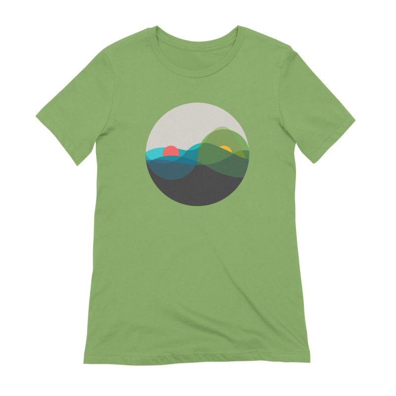 Sunrise vs Sunset Women's Extra Soft T-Shirt by YANMOS