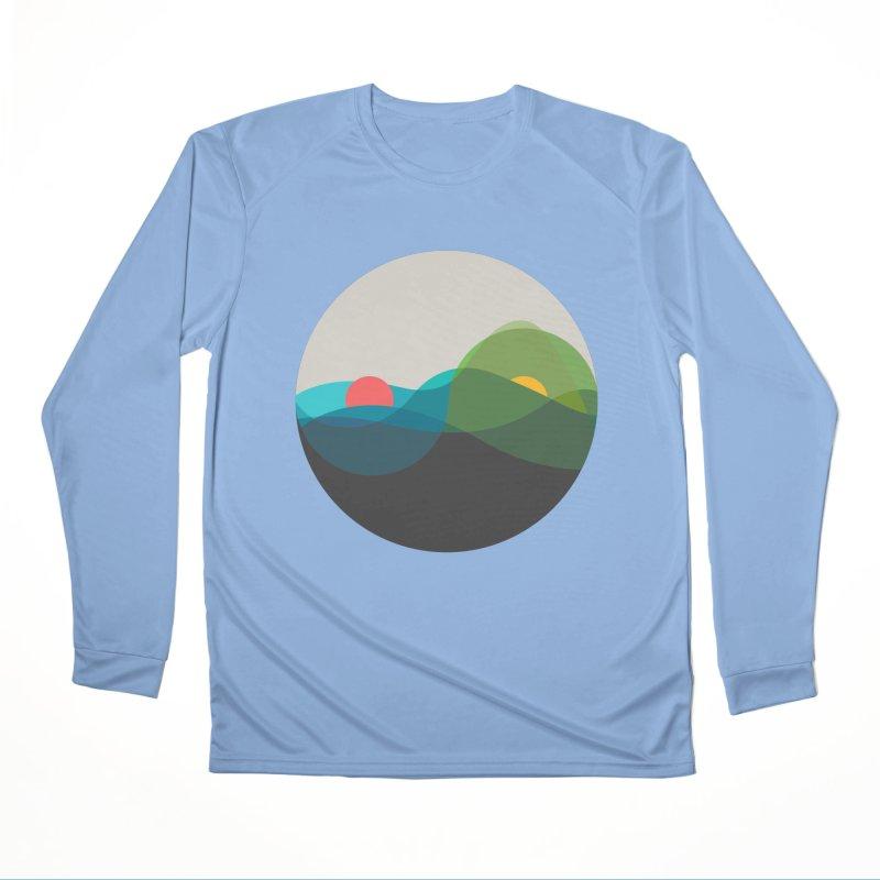 Sunrise vs Sunset Men's Performance Longsleeve T-Shirt by YANMOS