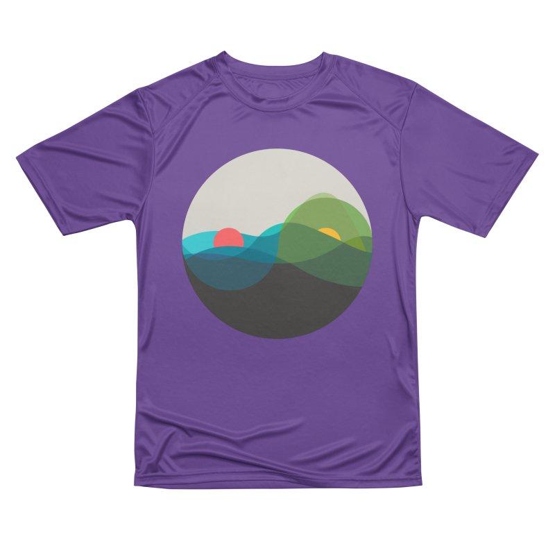 Sunrise vs Sunset Women's Performance Unisex T-Shirt by YANMOS