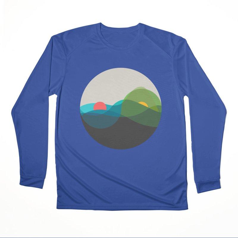 Sunrise vs Sunset Women's Performance Unisex Longsleeve T-Shirt by YANMOS