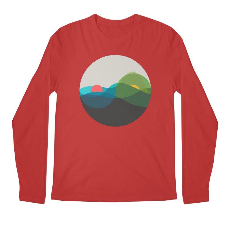 Sunrise vs Sunset Men's Regular Longsleeve T-Shirt by YANMOS