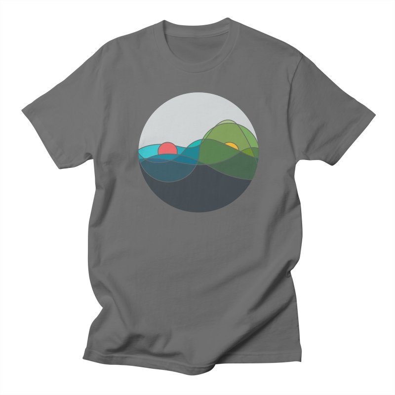 Sunrise vs Sunset Men's T-Shirt by YANMOS