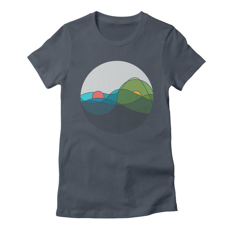 Sunrise vs Sunset Women's T-Shirt by YANMOS