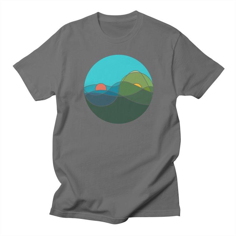 Sunrise vs Sunset Men's T-Shirt by YANMOS