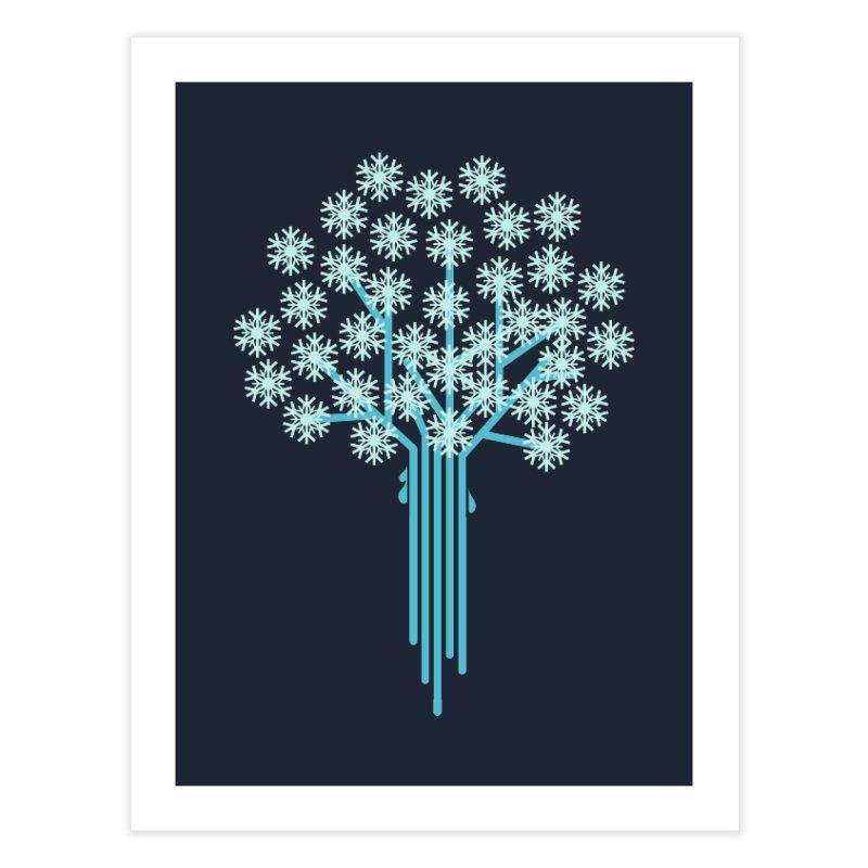 Winter Tree Home Fine Art Print by YANMOS