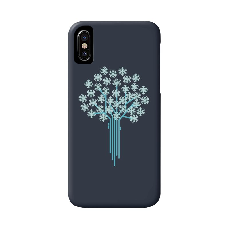 Winter Tree Accessories Phone Case by YANMOS
