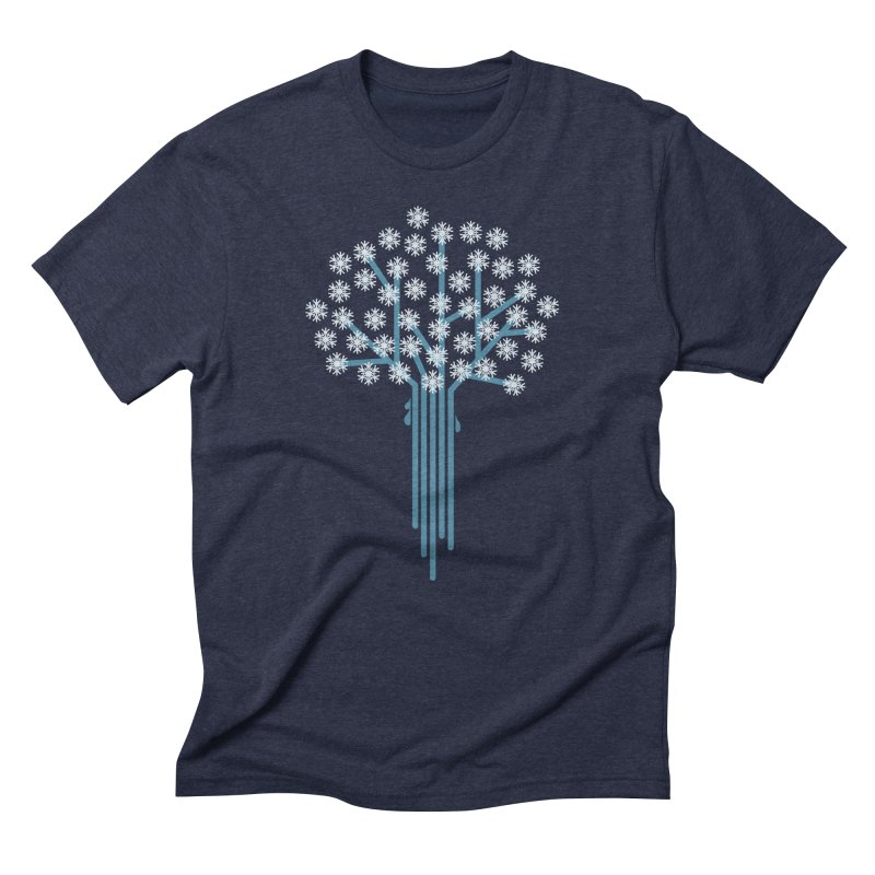 Winter Tree Men's T-Shirt by YANMOS