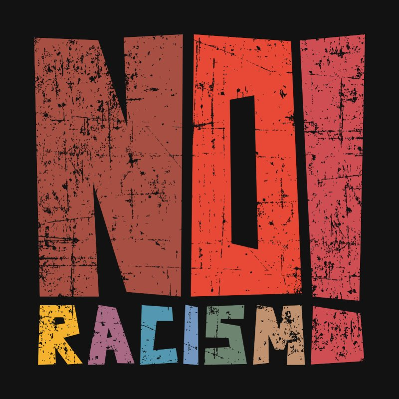 No racism! Women's V-Neck by YANMOS