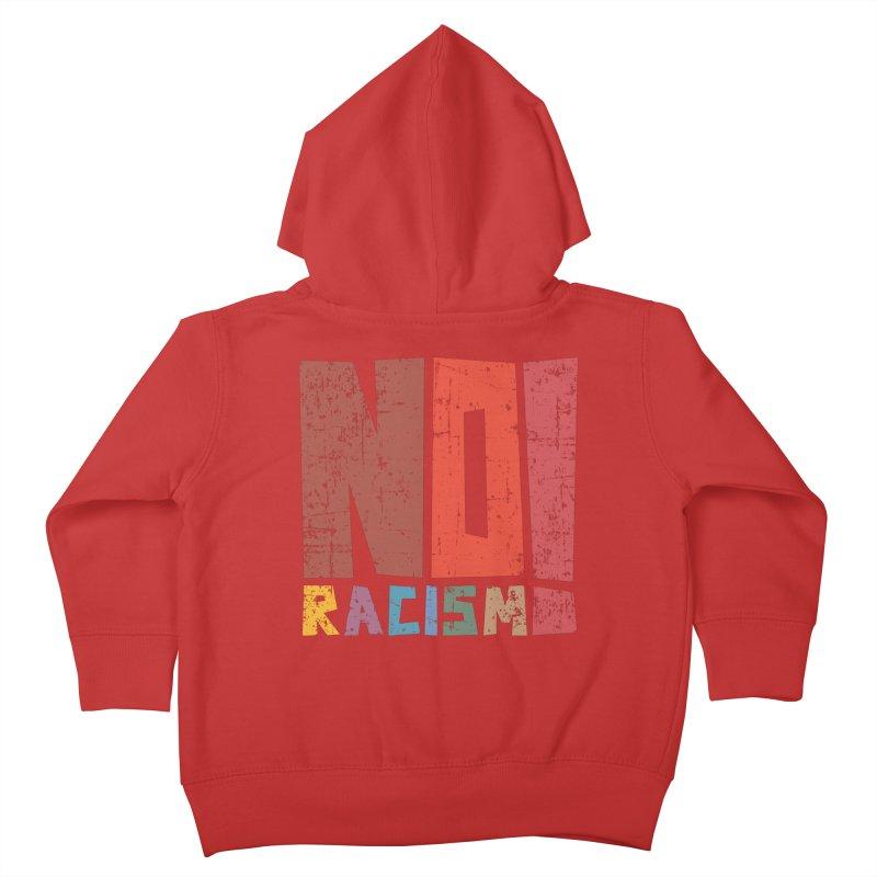 No racism! Kids Toddler Zip-Up Hoody by YANMOS